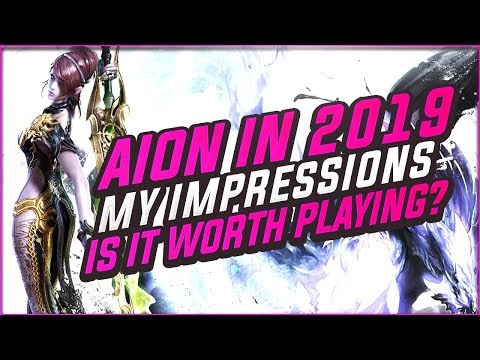 You Guys Asked For This.. AION 6.5: PANDORA.. Is Aion Is Worth Playing In 2019?