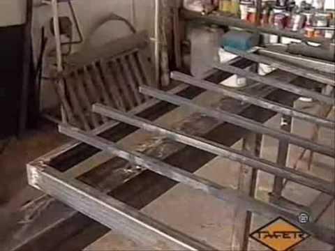 Como hacer rejas balcones barandas portones y puertas for Como hacer una puerta de metal