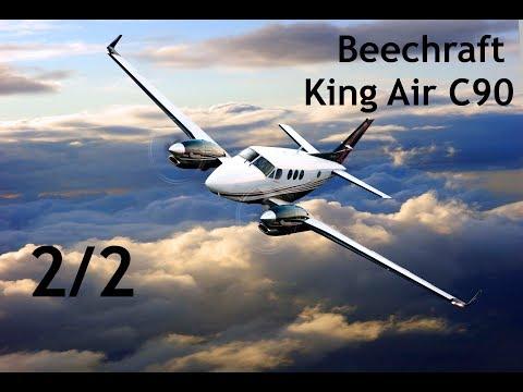 Landung und Autopilot//Beechcraft King Air C90//X-Plane 11//German Tutorial