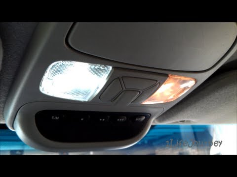 2004 Toyota Sienna Led Map Light Bulb Install Youtube
