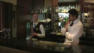 Shot from Old Course Hotel Dananjaya Silva tastes a seasonal Orange...