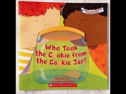 Who Stole The Cookie From The Cookie Jar Book Unique Chrildrens Story Time Book Reads Who Took The Cookie From The Cookie