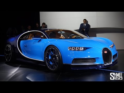 Bugatti Chiron Unveiled to the World - Launch Presentation