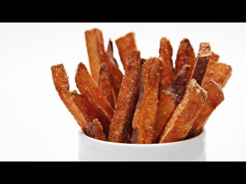 Hand-Cut Sweet Potato Fries With Cilantro-Lime Aioli   HuffPost Life