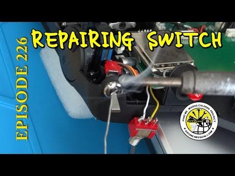 Howto Repair Change Devo F12E radio switch