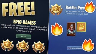 HOW TO GET 30 *FREE* BATTLESTARS IN FORTNITE!