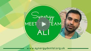 Dr Ali Altaf | Meet The Team | Synergy Dental Preston