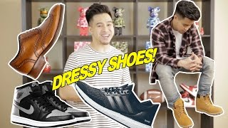 TOP 5 SHOES TO WEAR WITH DRESSIER CLOTHING PIECES
