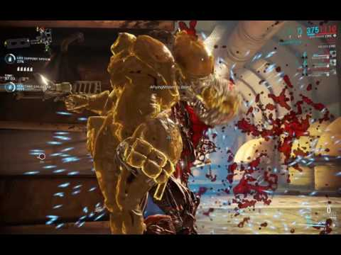 WARFRAME – Ash Bug: No Energy On-Click Bladestorm