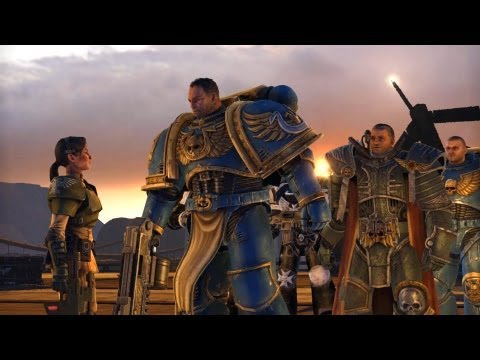 Inquisitor Thrax and Black Templars Detain Titus for Heresy (Warhammer 40k: Space Marine Ending)