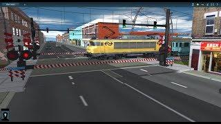 Trainz Railfanning Pt 161: Nederlandse Spoorwegen Spoorwegovergang (Dutch Railways Level Crossing