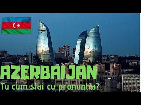 🇦🇿 Azerbaijan Are Cele Mai Greu De Pronuntat Cuvinte, Promit