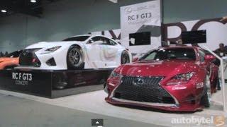 Lexus RC F GT3 Concept 2014 Videos