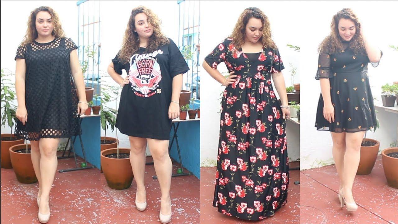 Shein vestidos de fiesta tallas grandes