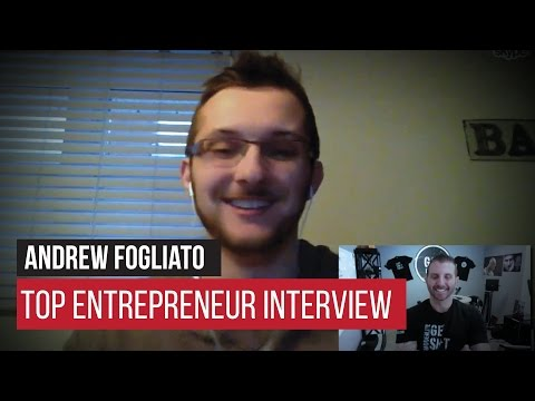 Interview With Online Real Estate Lead Generation Machine Andrew Fogliato