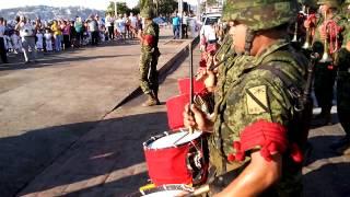 Himno Nacional Mexicano con BANDA DE GUERRA Y BANDA DE MÚSICA