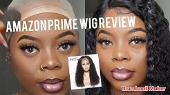 Preplucked Amazon Wig   UNICE HAIR BETTYOU SERIES BRAZILLIAN CURLY LACE WIG REVIEW