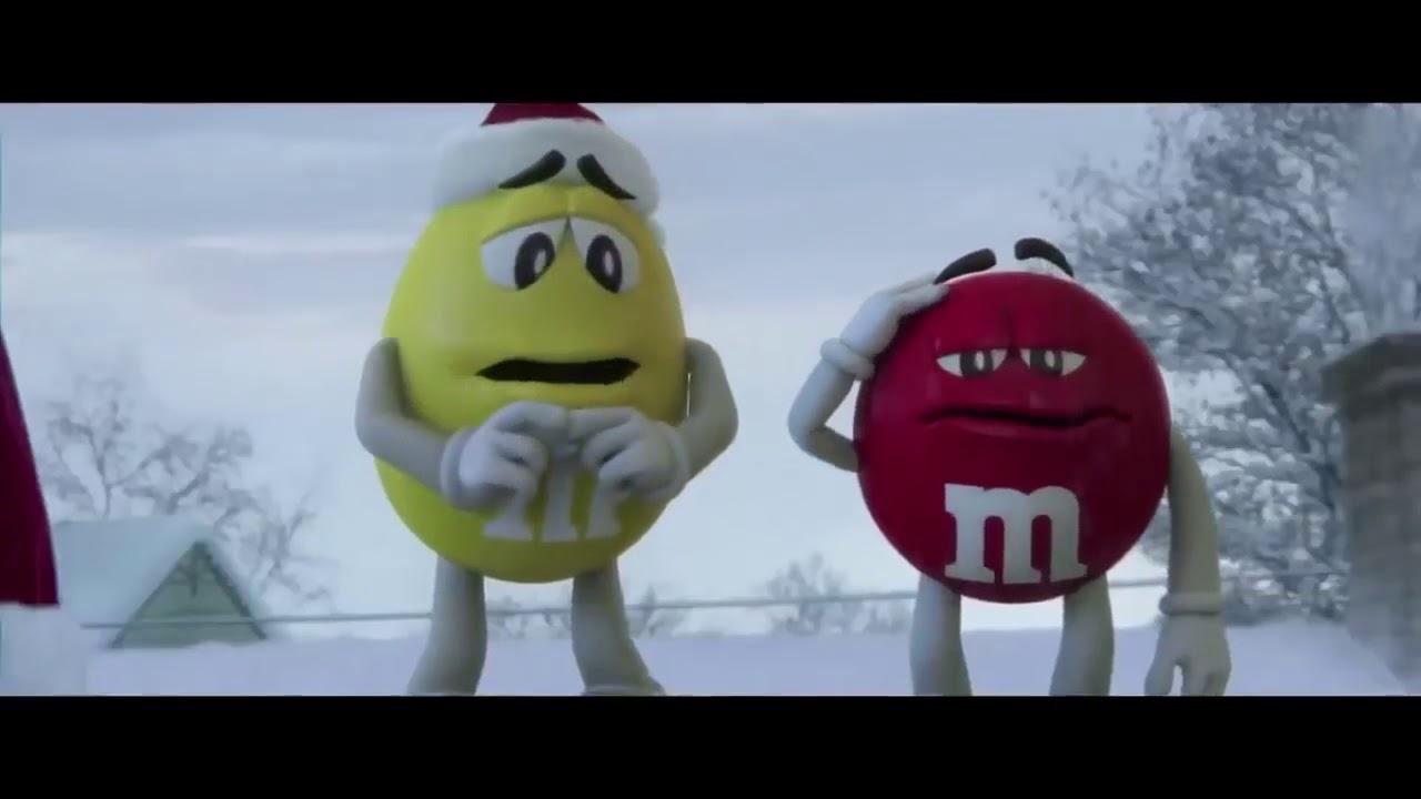 M&M\'s Commercial 2017 Faint Christmas Eve - YouTube