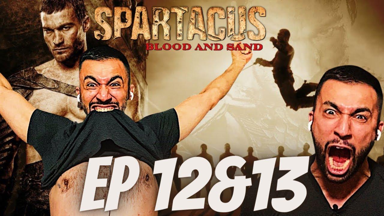 Download SPARTACUS SEASON 1 -  EPISODE 12 + 13 REACTION