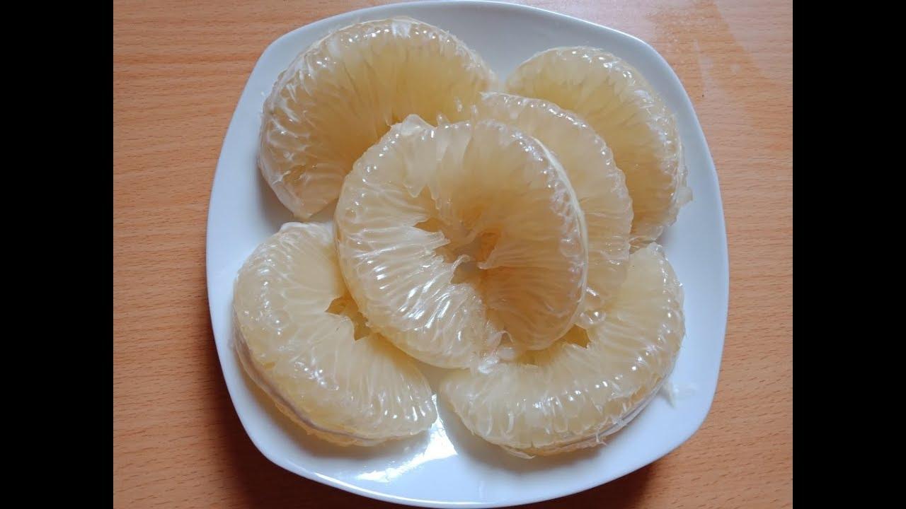 Cách tách múi bưởi cực nhanh cực đơn giản đẹp mắt_Cut and eat Pomelo