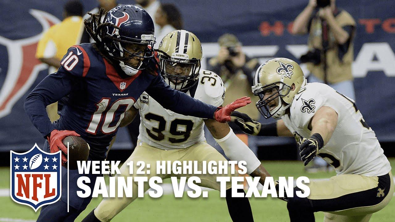 16afc15c Saints vs. Texans | Week 12 Highlights | NFL