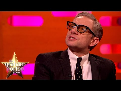 Martin Freeman Jokes About Love Actually Sex Scenes - The Graham Norton Show