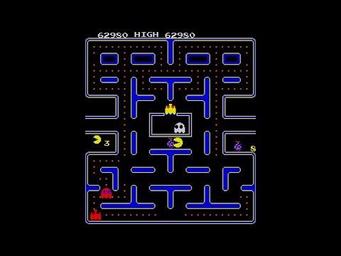 Arcade Longplay - Pac-Man (Galaxian Hardware)
