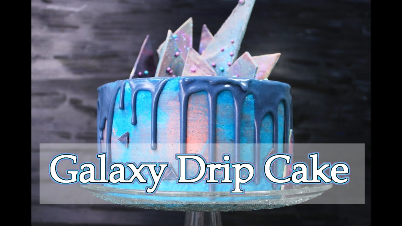 helle galaxy torte mit schoko deko drip cake deutsch torten selber machen ohne fondant. Black Bedroom Furniture Sets. Home Design Ideas