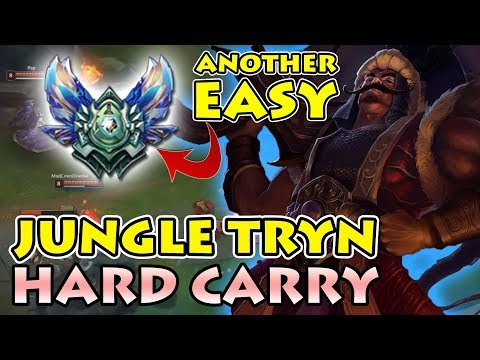 HOW IT'S DONE | GETTING ANOTHER ACCOUNT TO DIAMOND S8: Hyper Carry Jungle [18 Kills] Full Game