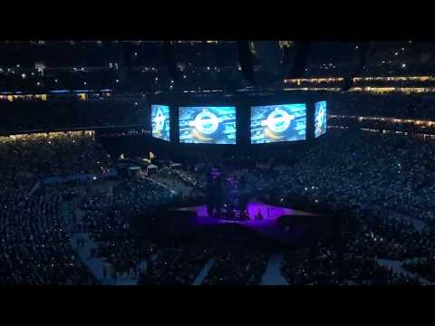 George Strait/Entrance & Write This Down/RodeoHouston/March 2019/NRG Stadium