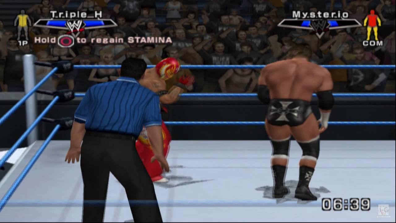 WWE SmackDown vs. Raw 2007 PS2...