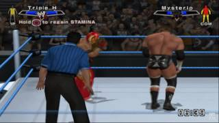 WWE SmackDown vs. Raw 2007 PS2 Gameplay HD