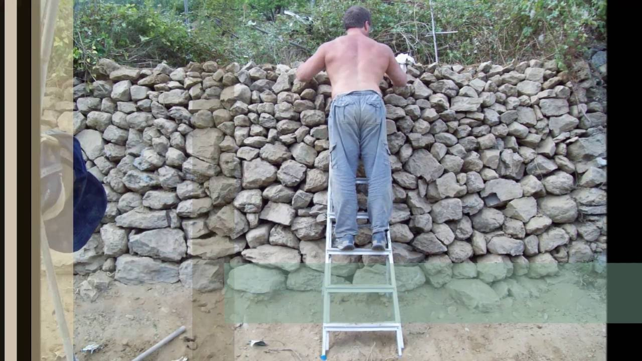 Costo realizzazione muro a secco - EDILNET.IT - YouTube