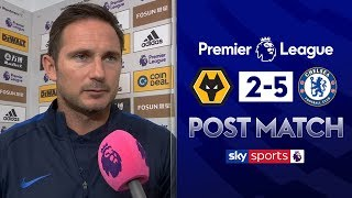 Lampard praises Abraham hat-trick! | Post Match | Wolves 2-5 Chelsea