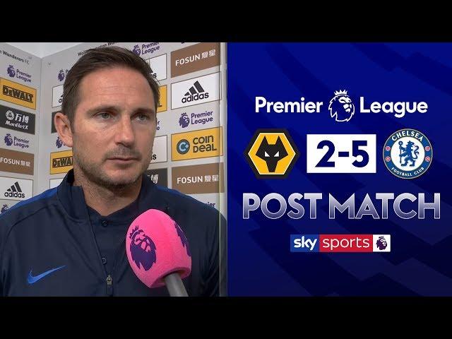 Lampard praises Abraham hat-trick! | Post Match | Wolves 2-5 Chelsea