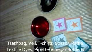 Cara Membuat Batik Celup