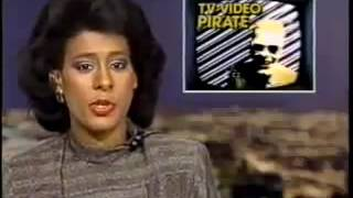 "News Reports on 1987 Max Headroom TV Broadcast Intrusion ""Viewer discretion is advised"""