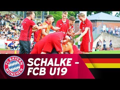 FC Schalke 04 - FC Bayern München 4:5 i.E.   Highlights U19-Bundesliga Halbfinale