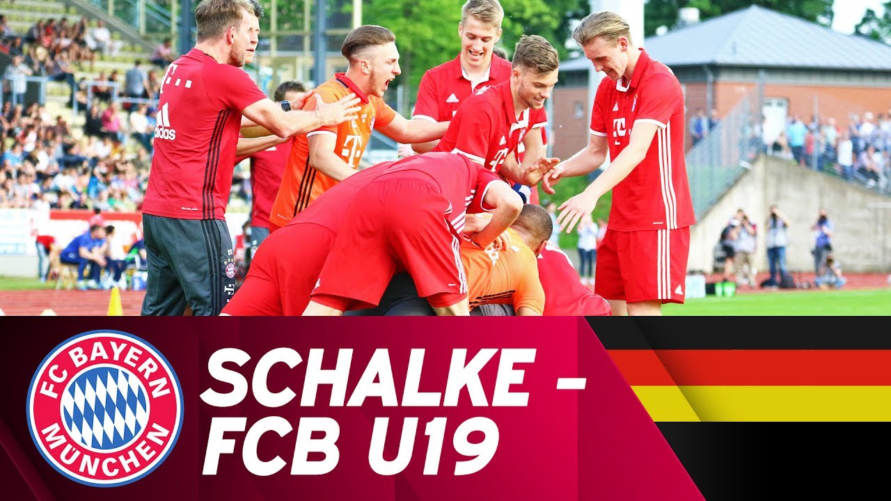 Download FC Schalke 04 - FC Bayern München 4:5 i.E.   Highlights U19-Bundesliga Halbfinale
