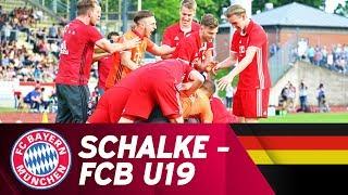 FC Schalke 04 - FC Bayern München 4:5 i.E. | Highlights U19-Bundesliga Halbfinale