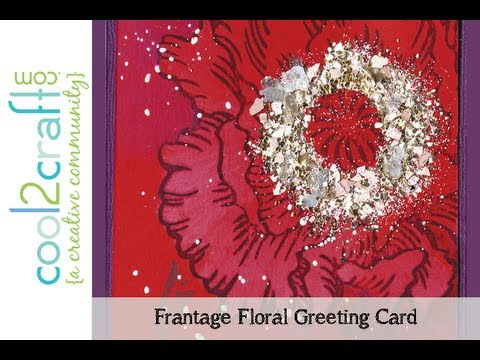 Stampendous Jumbo Stamps & Encrusted Jewel Kits—Special CHA Feature