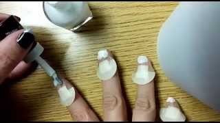 Traditional French Tip DIY, Super Easy, Beginner