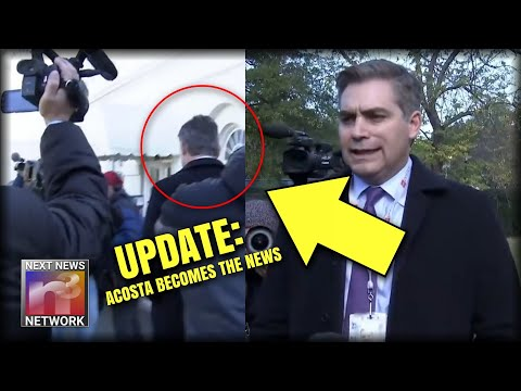 UPDATE: Look What Acosta Did RIGHT AFTER He Got His Press Pass Back - WHAT AN A-HOLE!!