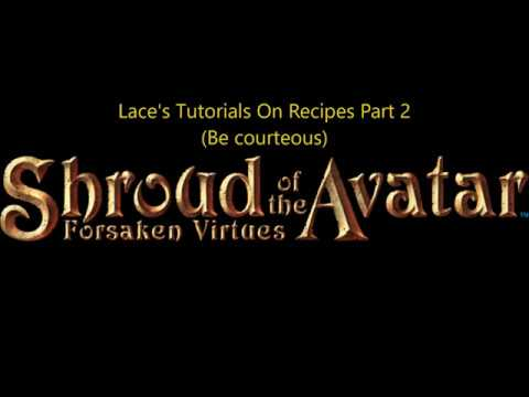 Download Shroud of the Avatar Recipe Trading Courtesies