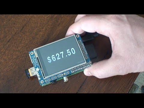 Raspberry Pi Bitcoin Ticker - Well Tempered Hacker