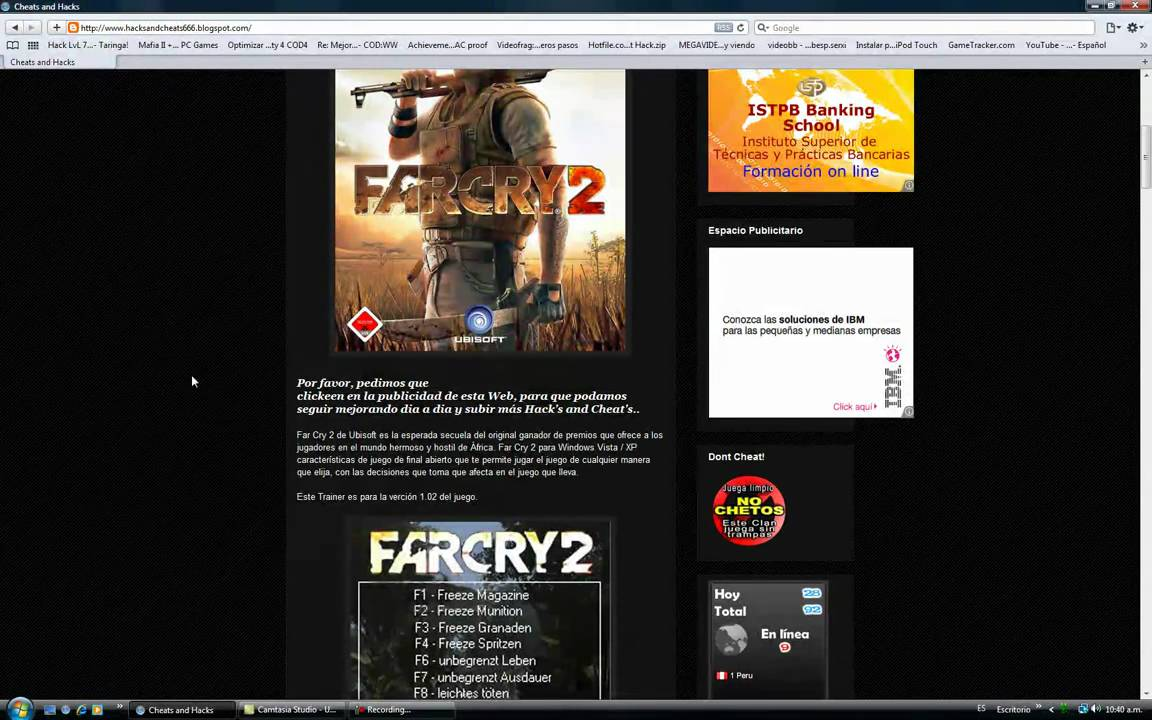 far cry 2 v1.02 trainer