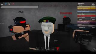 I am special guest |:| SCPF|:| Site 92 - Roblox