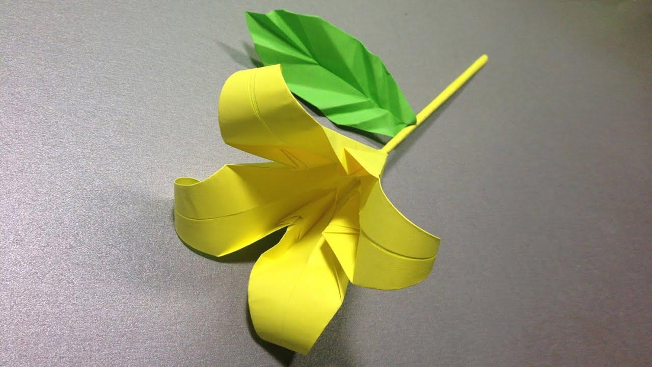 Оригами из бумаги ведро 2
