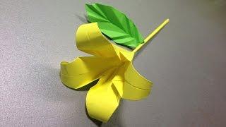 Оригами цветы. Оригами цветы из бумаги видео схема. Origami flowers. Origami flowers scheme video.(Оригами цветов. Схема видео ка сделать оригами цветка. Цветок оригами из цветной бумаги. Видео схема цветка..., 2014-11-20T18:00:54.000Z)