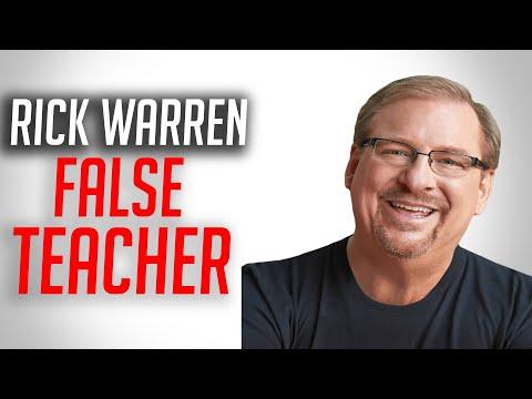 Rick Warren   False Teacher